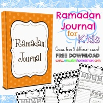 Kids Ramadan Journal advert (1)